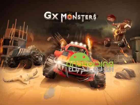 GX Monsters - بازی مسابقه ای هیولاهای جی ایکس
