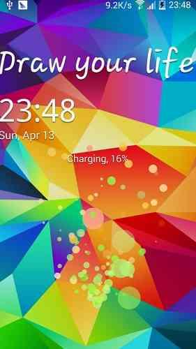 دانلود Galaxy Locker v3.1.4 لاک اسکرین گوشی های گلکسی 1
