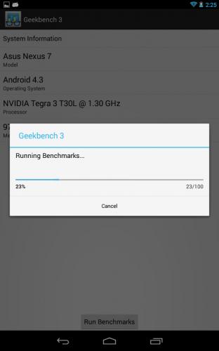 Geekbench 3   برنامه ی معروف بنچمارک و تست سرعت دستگاه