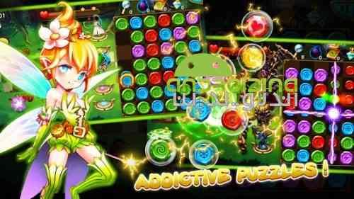 Gem Blitz: Match 3 RPG Games - بازی حمله رعد آسا: مسابقه نقش آفرینی