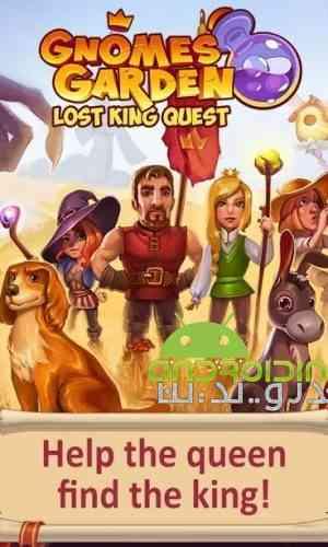 Gnomes Garden: The Lost King - بازی باغ گنوم: پادشاه از دست رفته