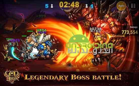 دانلود God of Era 0.1.28 بازی سرگرم کننده اکشن عصر خدایان اندروید 2