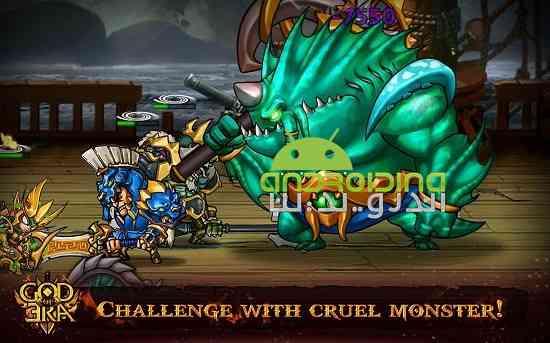 دانلود God of Era 1.0.2 بازی سرگرم کننده اکشن عصر خدایان اندروید 3