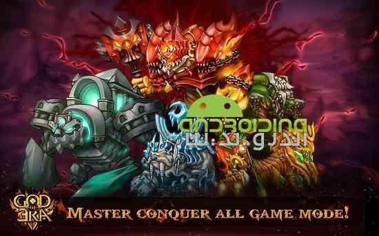 دانلود God of Era 0.1.28 بازی سرگرم کننده اکشن عصر خدایان اندروید 4