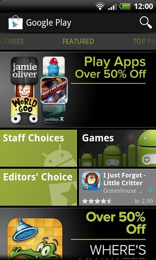 Google Play Store (Android Market) v3.8.15 مارکت رسمی اندروید 2