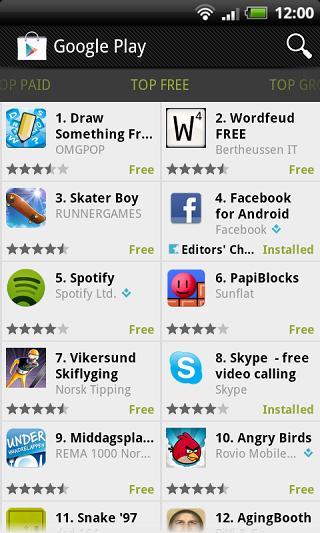 Google Play Store (Android Market) v3.8.15 مارکت رسمی اندروید 1