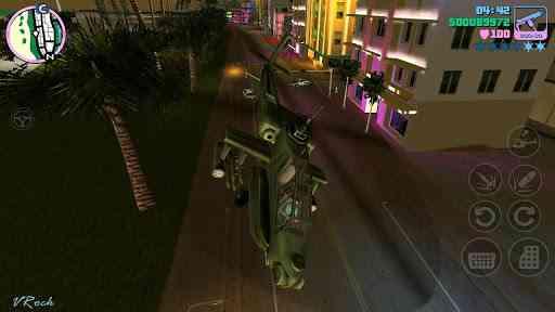 Grand Theft Auto Vice City 1.0.7 بازی فوقالعاده زیبا و باگرافیک جی تی آ اندروید 2