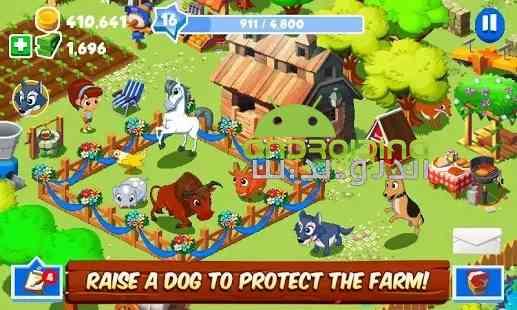 Green Farm 3 - بازی سرگرم کننده مزرعه سبز 3