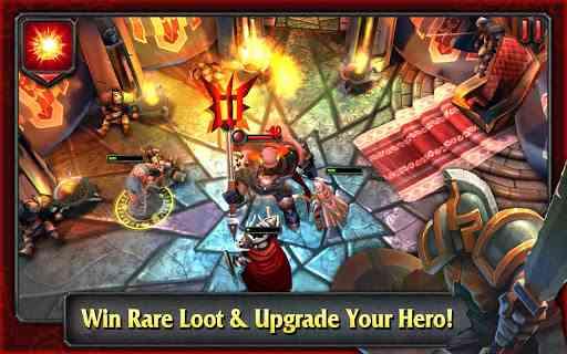 HEROES OF DESTINY - بازی مبارزه ای – از شرکت بزرگ بازی سازی Glu Mobile