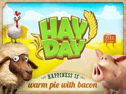 Hay Day   بازی انلاین مزرعه داری