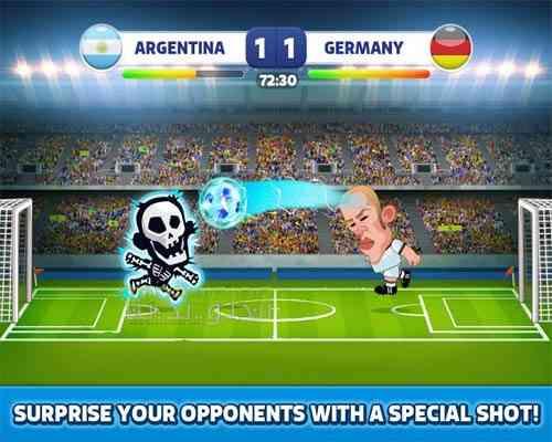 دانلود Head Soccer 6.0.12 بازی فوتبال کله ای اندروید 3
