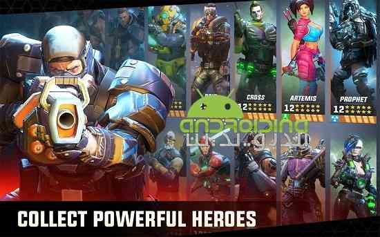 دانلود Hero Hunters 0.8.2 بازی اکشن قهرمانان شکارچی اندروید 3