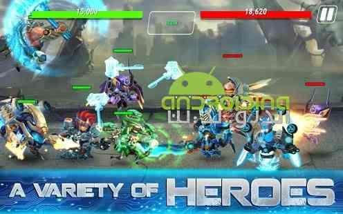دانلود Heroes Infinity 1.9.4 بازی آنلاین قهرمانان بی نهایت اندروید 2