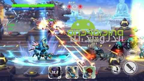 دانلود Heroes Infinity 1.9.4 بازی آنلاین قهرمانان بی نهایت اندروید 3