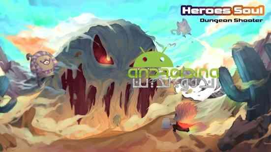 Heroes Soul: Dungeon Shooter - بازی روح قهرمانان: تیرانداز سیاه چال