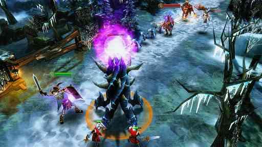 Heroes of Order & Chaos - بازی انلاین زیبای قهرمانان اندروید
