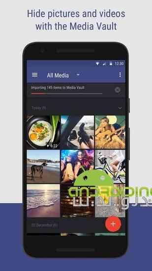 دانلود Hexlock App Lock & Photo Vault 2.0.105 قفل کردن برنامه ها در اندروید 1
