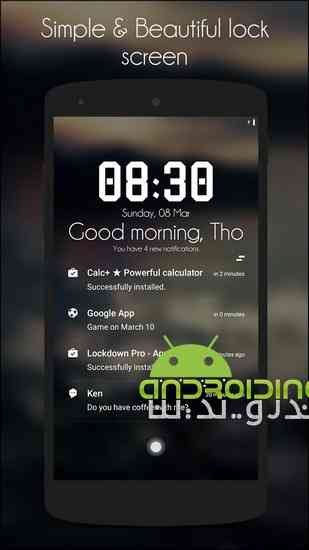 دانلود Hi Locker – Your Lock Screen 1.9.3 لاک اسکرین زیبا برای اندروید 1