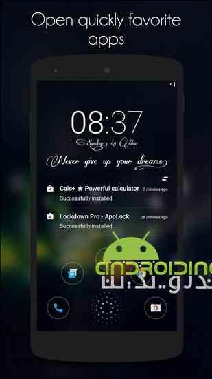دانلود Hi Locker – Your Lock Screen 1.9.3 لاک اسکرین زیبا برای اندروید 3
