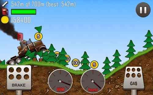 hill climb racing | بازی ماشین سواری تفریحی اعتیاد اور