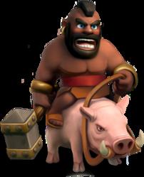 اموزش بازی Clash of Clans : هاگرایدر Hog Rider
