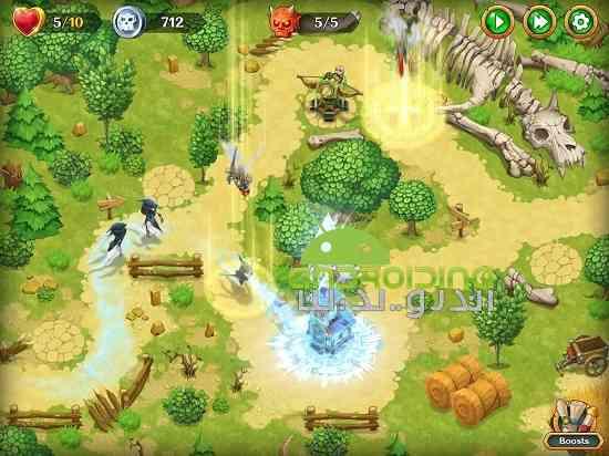 دانلود Holy TD: Epic Tower Defense 1.37 بازی حماسه برج دفاع اندروید 2