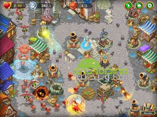 دانلود Holy TD: Epic Tower Defense 1.37 بازی حماسه برج دفاع اندروید 3