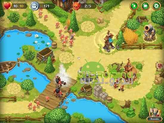دانلود Holy TD: Epic Tower Defense 1.37 بازی حماسه برج دفاع اندروید 4