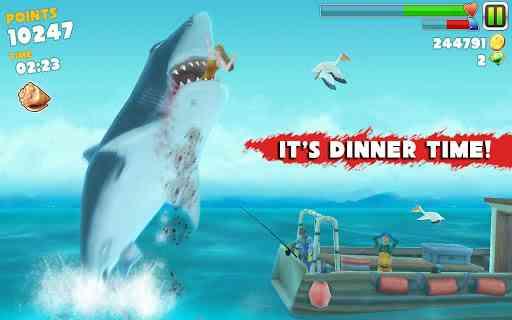 Hungry Shark Evolution - بازی زیبای کوسه گرسنه