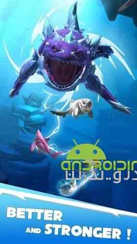 Hungry Shark Heroes - بازی کوسه های قهرمان گرسنه