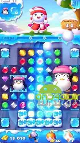 Ice Crush 2 – Winter Surprise - بازی پازلی یخ شکن 2 -زمستان شگفت انگیز