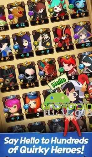 Idle: Hello Hero All Stars - بازی سلام قهرمان به همه ستاره ها