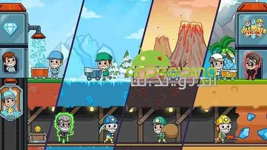 Idle Miner Tycoon - بازی شبیه سازی معدن کاری