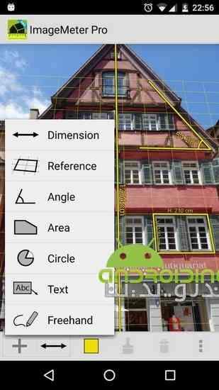 دانلود ImageMeter Pro 2.7.0 نرم افزار اندازه گیری ابعاد تصاویر در اندروید 1