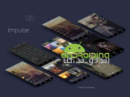 Impulse Music Player Pro |موزیک پلیر قدرتمند برای اندروید