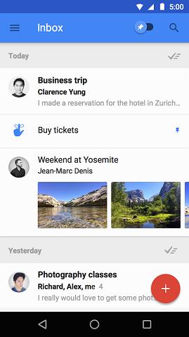 دانلود Inbox by Gmail 1.56.168919525 نرم افزار اینباکس گوگل اندروید 3