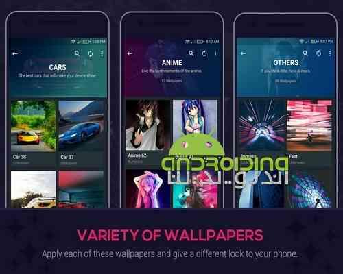 دانلود InsWall Pro – Wallpapers 1.0.7 والپیپر های زیبا و فوق العاده در اندروید 3