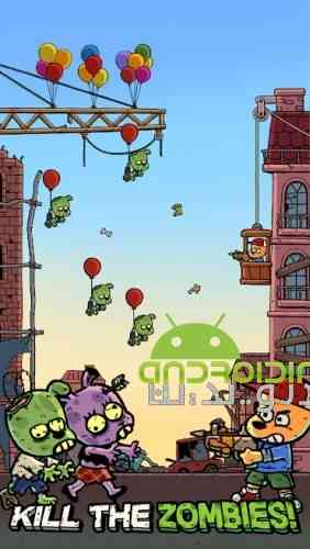 Invader Z: The Rise Of Zombies - بازی مهاجم زد: ظهور زامبی ها