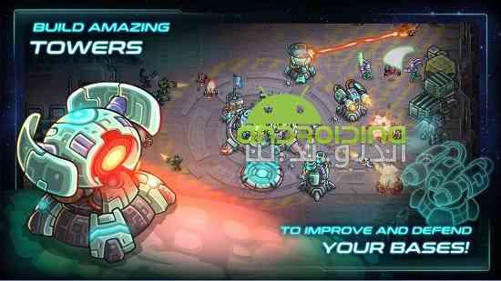 Iron Marines - بازی استراتژیک تفنگداران آهنی