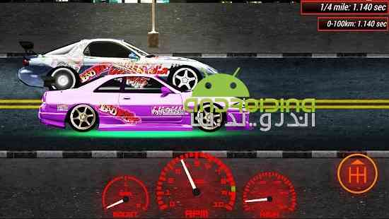 Japan Drag Racing 2D - بازی مسابقات درگ ژاپن