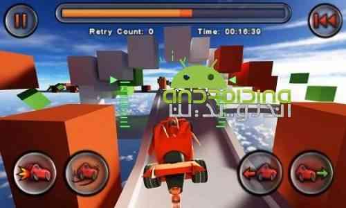 Jet Car Stunts - بازی شیرینکاری با ماشین جت