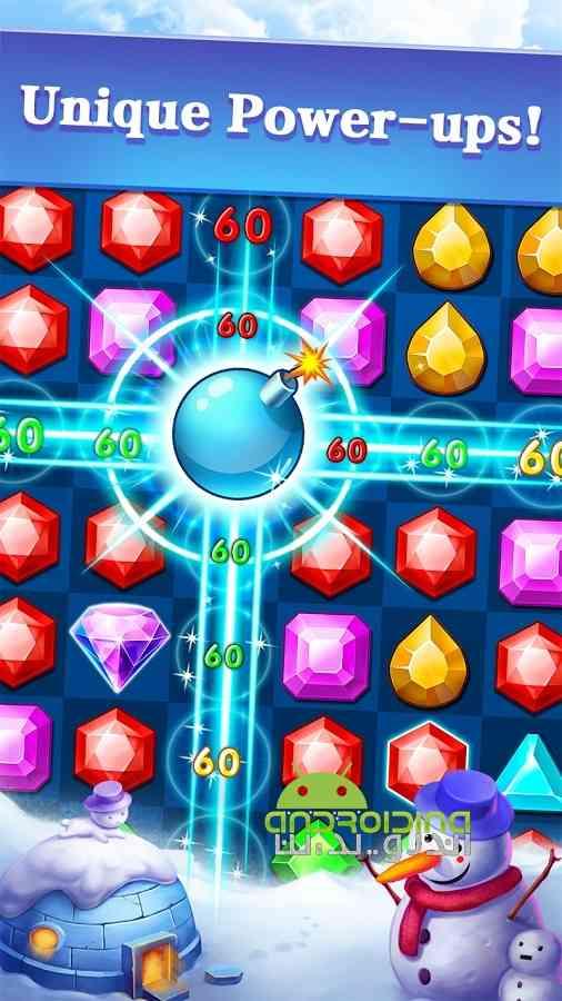 دانلود Jewels Legend – Match 3 Puzzle 2.5.1 بازی جواهرات افسانهای اندروید 3