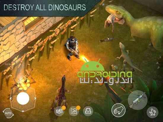 Jurassic Survival - بازی اکشن بقا در ژوراسیک