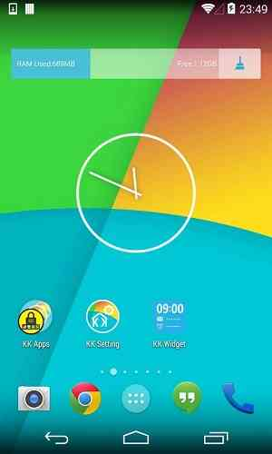 دانلود KK Launcher Nougat Edition 7.6 لانچر اندروید 1