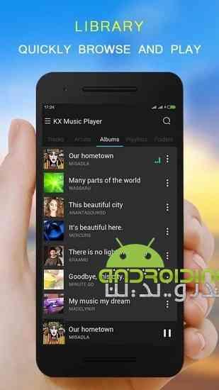 دانلود KX Music Player Pro 1.5.4 موزیک پلیر قدرتمند برای اندروید 1