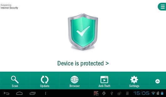 Kaspersky Internet Security | انتی ویروس معروف و قدرتمند کسپر اسکای اندروید