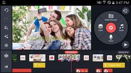 KineMaster – Pro Video Editor |ویرایشگر حرفه ای ویدئو در اندروید