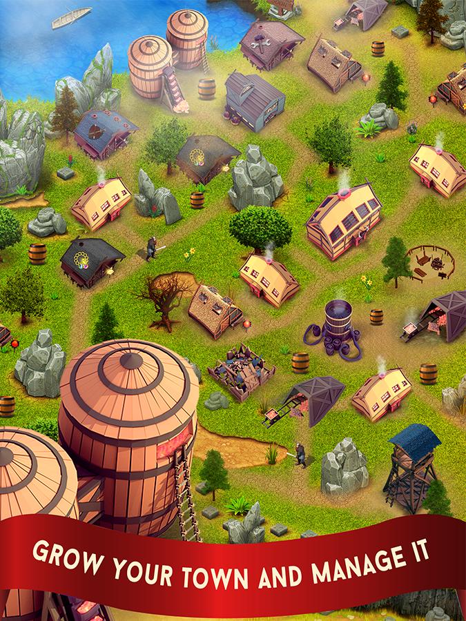 دانلود Kingdom Rises 1.4 بازی افلاین عصر پادشاهی اندروید 1