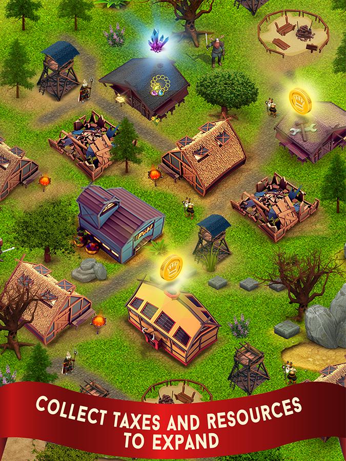 دانلود Kingdom Rises 1.4 بازی افلاین عصر پادشاهی اندروید 2