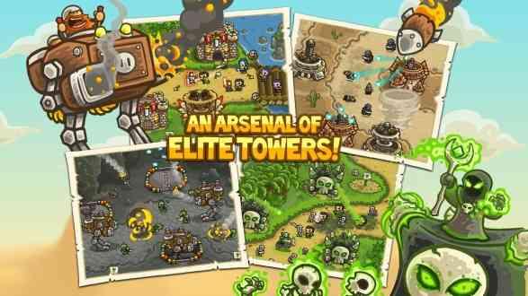 Kingdom Rush Frontiers | بازی استراتژیکی قلمرو پادشاهی